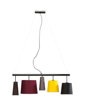 PENDANT LAMP PARECCHI COLORE 100CM (EXCLUDING BULB AND SOCKET)