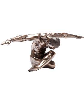 Deco Figurine Nude Man Bow 137cm