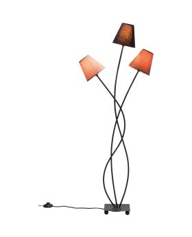 FLOOR LAMP FLEXIBLE MOCCA TRE (EXCLUDING BULB)