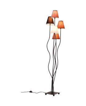 Floor Lamp Flexible Mocca Cinque (Excluding Bulb)