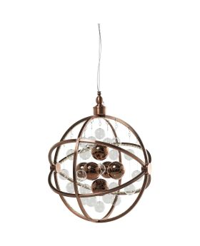 PENDANT LAMP UNIVERSUM COPPER LED (EXCLUDING BULB AND SOCKET)
