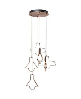 Pendant Lamp Foggia Led 6-Lite (Excluding Bulb And Socket)