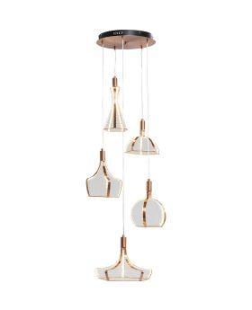 Pendant Lamp Foggia LED 5-lite