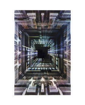 Picture Glass Science Fiction 120x180cm