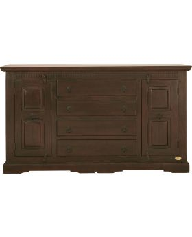 Cabana Dresser 2-doors, 4 drawers