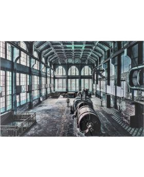 Picture Glass Factory Hall 100x150cm