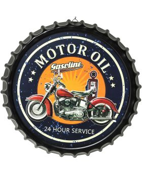 Wall Decoration Motor Oil Round