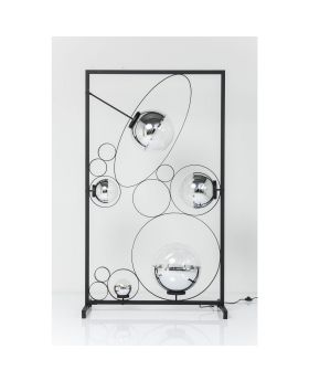 Floor Lamp Balloon Clear Square LED