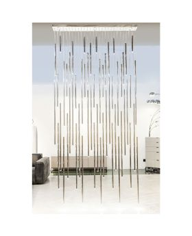 PENDANT LAMP LIVING VEGAS DELUXE CHROME LED (EXCLUDING BULB AND SOCKET)