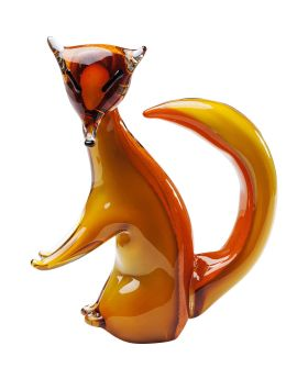 Deco Figurine Fox Brown
