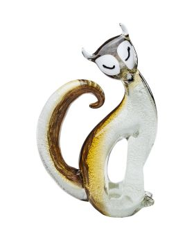 Deco Figurine Fox Bicolor