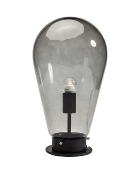 Table Lamp Bulb Black