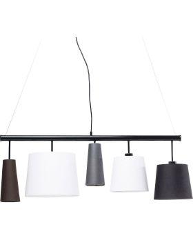 PENDANT LAMP PARECCHI BLACK 100 (EXCLUDING BULB AND SOCKET)