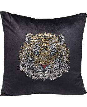 Cushion Tiger Face 45X45Cm