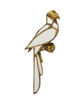 Wall Decoration Parrot Mirror