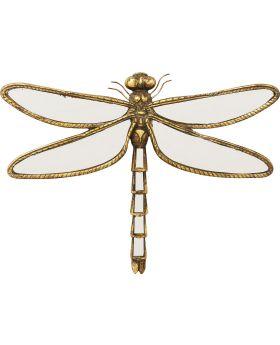 Wall Decoration Dragonfly Mirror