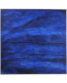 Oil Painting Abstract Deepblue 155X155Cm