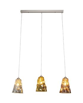 Pendant Lamp Crumble Dining Tricolore (Excluding Bulb And Socket)