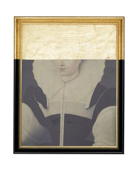 Oil Painting Frame Incognito Lady
