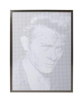 Picture Frame Idol Pixel James ,Grey