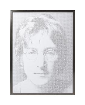 Picture Frame Idol Pixel John ,Grey