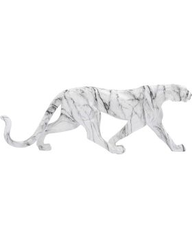 Deco Object Leopard Marble 95Cm