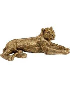 Deco Object Lion Gold