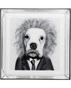 Picture Frame Mirror Smart Dog 60X60Cm