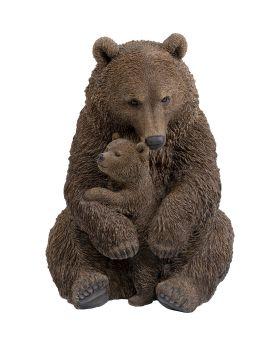 Deco Object Cuddle Bear Family 81Cm