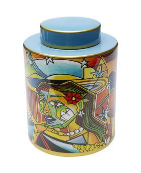 Deco Jar Graffiti Art 27Cm