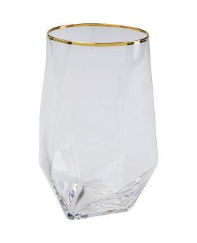 Tumbler Diamond Gold Rim