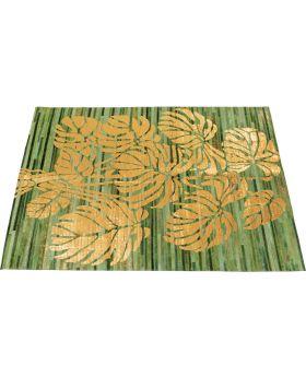 Carpet Gold Leafs 170X240Cm,Golden