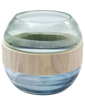 Vase Funky 22Cm,Blue