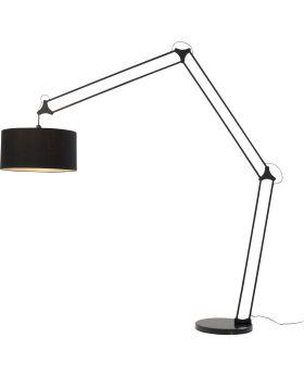 Floor Lamp Geometry Black (Excluding Bulb)
