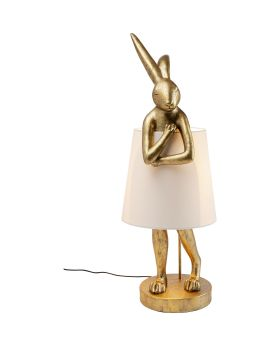 Table Lamp Animal Rabbit Gold 88Cm (Excluding Bulb)