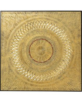 Object Picture Art Geometric Circle Gold