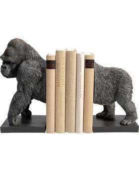 Bookend Gorilla (2/Set) Black