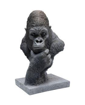 Deco Object Thinking Gorilla Head