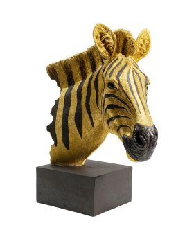 Deco Object Zebra Gold
