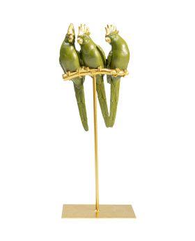 Deco Figurine Parrot Friends