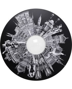 Wall Object City Pupil DIA160Cm