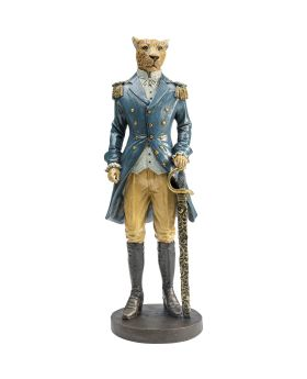 Deco Figurine Sir Leopard Standing