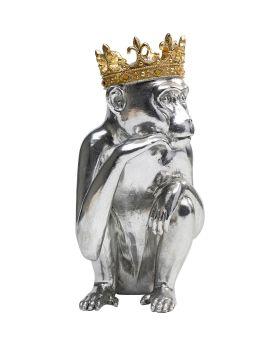 Deco Figurine King Lui Silver 35