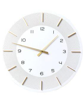 Wall Clock Lio White DIA60