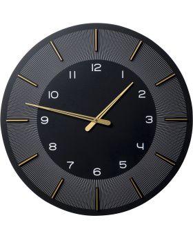 Wall Clock Lio Black DIA60