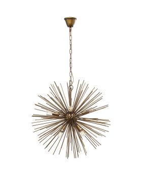 Pendant Lamp Beam Brass 72cm
