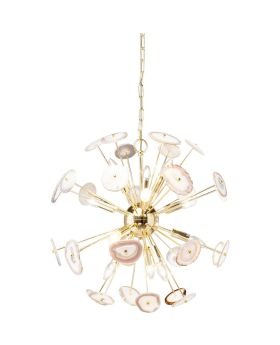 Pendant Lamp Chips Nature Brass Ø61cm