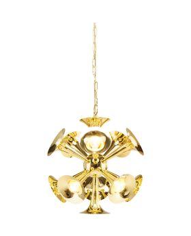 Pendant Lamp Trumpets Brass Ø73cm