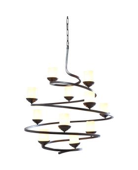 Pendant Lamp Spiral Candle