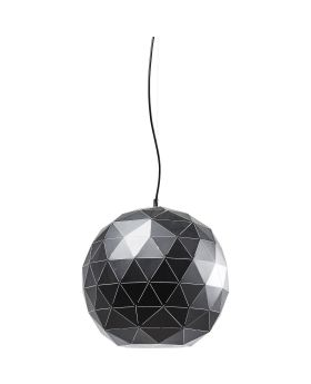 Pendant Lamp Triangle Black 40cm